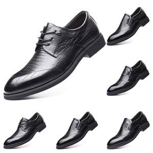 2020 New Fashion chaud 37-44 nouvelles chaussures pour hommes en cuir pour hommes surchaussures britanniques chaussures de sport gratuit Envoi Espadrilles # 13