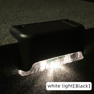 Solar energy lamp No installation of outdoor waterproof approach lighting balustrade courtyard Led garden step lights at night light contro