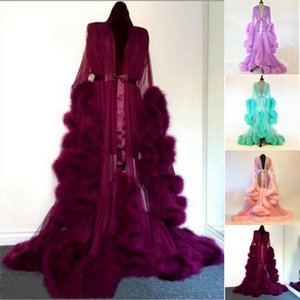Sexy Women Sleepwear Lace Dress Ladies Long Bathrobe Night Gown Robe Club Dress Vestidos Celebrity Evening Party