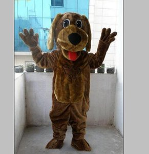 2018 High quality hot Wags The Dog Mascot Costumes Cartoon Fancy Dress EMS Adult Size Free Shipping