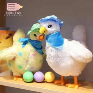 الدجاجة مضحك الدجاج لعبة الدجاج هين وضع البيض صدمة نكتة هدية الطفل المضادة للإجهاد أداة متعة لعبة داخلي أو في الهواء الطلق النكات العملية C0119