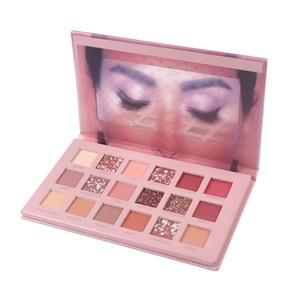 18 Cores Doce Sweet Syeshadow Palette Portátil À Prova D 'Água Pearl Light Power Shadow Makeup Makeup Conjunto Cosmético Ferramentas