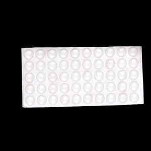 Clear Self Adhesive Rubber Door Buffer Pad Feet Semicircle Bumpers For Door Accessories