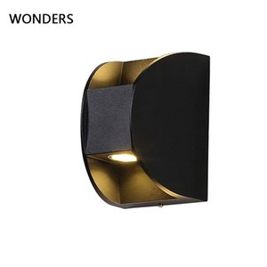 Modern IP65 LED Up and down decorative Outdoor Corridor Balcony Courtyard Living Room Acrylic study Dining Room Wall Lamp