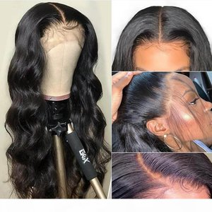 360 lace frontal wig body wave wigs pre plucked with baby human hair Brazilian 360 full hd front closure 30 inch for black women