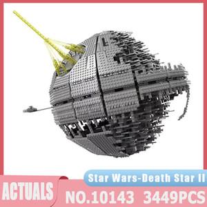 Star Plan Series 05026 3449PCS MOC UCS Death Star II Ultimate Arme Super Laser Kits de construction Brique Brique Jouets Jouets Cadeaux de Noël J1204