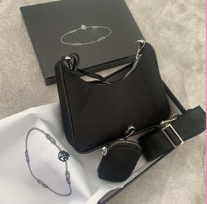2020 Сумки на ремне Высококачественные нейлоновые сумки бестселлеров кошелек женщин роскошь бренд Crossbody Bag Hobo Usges Triad Bags Baguette пакет