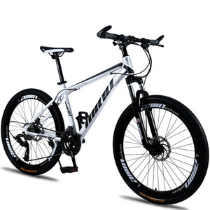 "Mountain Bike Disc Brake Shock Absorption 21 24 27 30 speeds Disc brakes Fat bike 26 inch 26x4.0"" Fat Tire Mountain Snow Bicycle B1203"