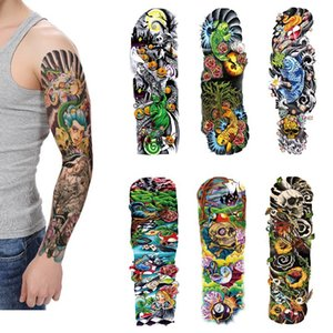 Flower Arm Tattoo Stickers Waterproof Tattoo Stickers Water Transfer Sticker Halloween Party Stickers In Europe and America