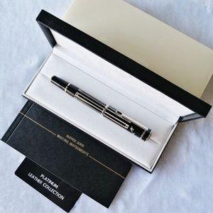 PP GEL ручки для великого писателя Thomas Mann роскошь писать гладко роликовый шариковый ручка + подарок пополнение + подарочный чехол