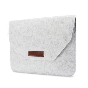 Filz-Laptoptasche Kundenspezifische Anti-Collision-Schutz-Tablet-Filzbeutel-Notebook-Flach-Liner-Tasche