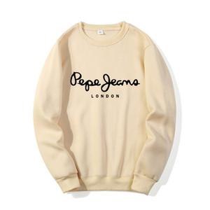Sweatwear Hommes Pull Sweat-shirt Longue manchesse Pepe Marque Designer Sweats à capuche à capuche 2020 automne hiver Homme Vêtements x1214