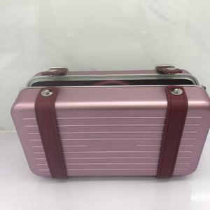 2020 حقائب جديدة 2DRCA295YWT_H31E رجالية حقيبة يد إمرأة مخلب أسود و شخصي في الألومنيوم والحبال كالفسكين مع المربع