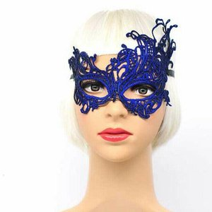 Mascarada colorido Halloween Party Mask Fifty Shades Darker Rhinestone Encaje Vestido Ojo Disfraz Funny Lace Máscaras 2015CM WMTUXP PETS2010