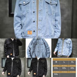 zL63 Quality High Men's denim Jackets Denim Jacket Clothing Windbreak For Jeans Color destroy denim jacket Coat Jacket Outerwear coat Man Pu