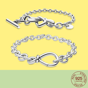 2020 NEW 925 Sterling Silver Simple hollow Suitable For Bracelets Suitable for Women To Wear Fashion Jewelry LJ201020