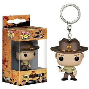 funko pop walking dead keychain walking dead surrounding doll toy Rick pendant wholesale