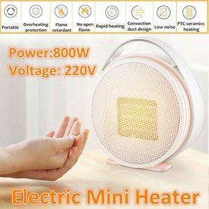 220V 800W Aquecedor portátil do escritório mini aquecedores elétricos Aquecedor elétrico Aquecedor Aquecedor Handy Aquecedor Home Home Home Handy ~ Calefator