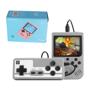 Macaron Colourful Video Game Console Built-500-in 8 Bit Classic Games Player for Reteo SFC FC NES Support AV Cable for Kids Family Best Gift