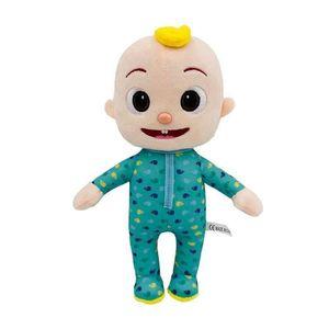 Christmas New Year Boy Girl Cocomelon Plush Toys Xmas Kid Soft Stuffed Dolls Toys Cartoon Toy Gift For Kids Children