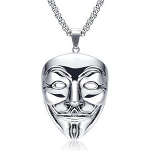Ghoul Halskette Halloween-Schädel-Mask-Kette für Frauen Ghost Cosplay Schmuck