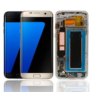 G935 LCD Super AMOLED PARA SAMSUNG GALAXY S7 Edge SM-G935F Pantalla LCD Pantalla táctil Digitalizador Reemplazo de reemplazo de repuesto al por mayor