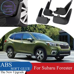 4pcs ABS Front Front Fender Protector de guardabarros para Subaru Forester 2009-2021 Aletas de barro de coche Splash Guard Mudguard Mudflaps