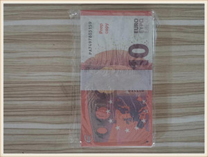 Euros Fake Money Banknotes Prop Money Paper 10 Euro Bills Prices Bank Note Business Gifts for Men Fake Paper Money for Collection854