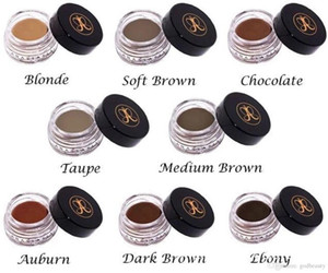 2020 Anastasia Beverly Hills Dipbrow Pomade Médio Marrom Waterproof maquiagem da maquiagem 4G loira / Chocolabrow 4G loira chocolate marrom escuro ebon