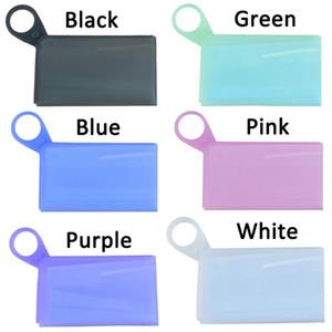 Tipo de silicone tipo máscara caixa de armazenamento máscara temporária clipe à prova de poluição à prova de poluição à prova de poluição máscara sacos artefato ppd3279