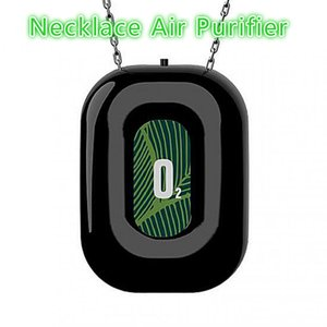 Mini Portable Necklace Air Purifier for Kids Adults Negative Ionizer Car Air Freshener Personal Hanging Necklace with Negative Ion
