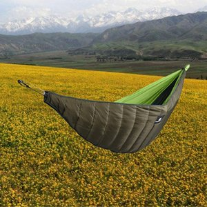 1pc Practical Leisure Hammock Windproof Warm Hammock Thickened Cotton Winter Camping for Camping