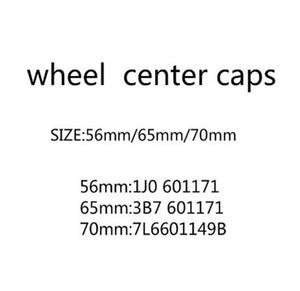 4pcs / lot 56mm 65mm 70mm centrali ruota tappo tappo hub tappi emblema distintivo copre accessori auto styling 3b7601171
