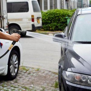 Portable Adjustable Garden Hose High Pressure Gun Sprinkler Nozzle Car Water Spray Gun Car Wash Hose Garden Water Wholesale