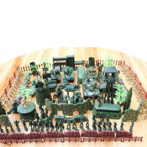 307pcs set Military 4cm Soldier Model Army Toy Action Figures Decor Model Toys Children Gift