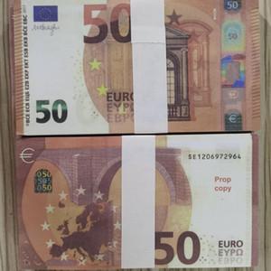 Euro Sahte Para Prop Para Kağıt 10 Euro Bills Banknot İş Sahte Kağıt Para Koleksiyonu için