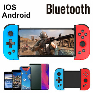 2020 Novo Telescópico Bluetooth Jogo Lidar com Wireless Bluetooth Gamepad Controlador Dual-Mode Joystick for iOS Android PC