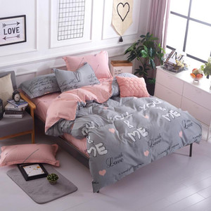 You and Me Bedlinen Duvet Cover Set Bedding Set 3 4 Pieces Twin Full Queen King for Couple Home Decoration Girls Women Gift