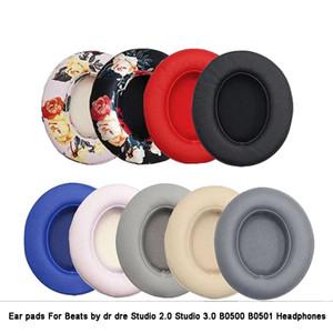 Cojines de reemplazo Earpads Cojines para las almohadas para el oído Auriculares para Beats by DR DRE Studio 2.0 Studio 3 B0500 B0501 Auriculares inalámbricos