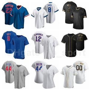 Nouveau baseball 44 anthony rizzo Jersey 12 Kyle Schwarber 22 Jason Heyward 9 Javier Baez Ian Miller Albert Almora Custom Man Woman Youth
