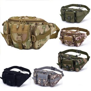 Utility Tactical Waist Bag Army Outdoor Camping Pack Pouch Hiking Hunting Waist Water Bottle Belt Bags Sport Fanny Pack