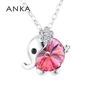 Anka Top Fashion Crystal Crystal подвеска фея ожерелье детей типа кристаллы из Австрии # 137200