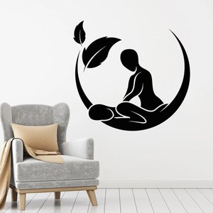 Wall Decal Massage Salon Spa Beauty Health Therapy Interior Decoration Door Window Vinyl Stickers Waterproof Art Wallpaper