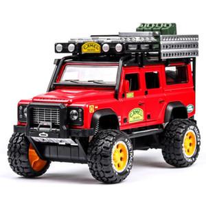 1:28 Mükemmel Kalite Deve Trophy Defender Metal Araba Oyuncak Alaşım Araba Diecasts Oyuncak Araçlar Araba Model Oyuncaklar Çocuklar için