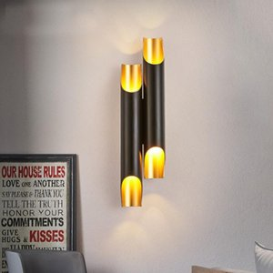 Modern Simple Creative Led Wall Light Aluminum Bedroom Restaurant Cafe Bar Club Wall Lamp Led Sconce Indoor Lighting