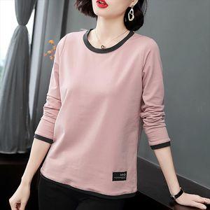 Camiseta Mujer Cotton Long Sleeve Shirt Women Plus Size T Shirt 2019 Womens Fall Clothes Tshirt Female Tee Femme