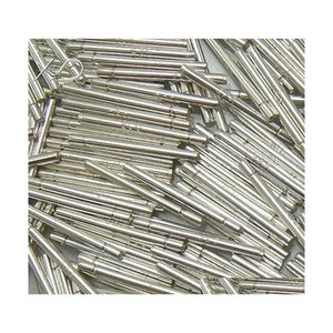 10Pairs Lot 925 Sterling Silver Earring Pins Needles Findings Components For Diy Craft Jewelry Gift 0.6X5X14Mm Wp741 Shipping Kkxi4 D3Xr1