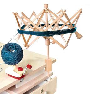 1 pc de madeira fios rápidos fio fio string lã titular guarda-chuva guarda-chuva ferramentas de artesanato de tricô para patchwork costurando acessórios diy1