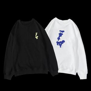 Hommes Sweat à capuche Couple Ronde Coulée Mode Imprimer Pull à manches longues Hommes Hommes Haute Qualité Sweat-shirt Code M-XXL