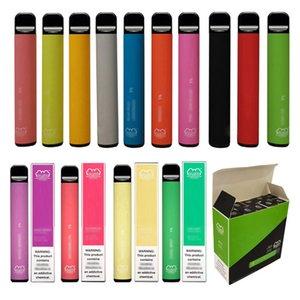 Vacío desechable Una vez Use Vape Pen Metal Vaporizador de plástico más nuevo vaporizador Vaporizador 800 Puffs 550 MAH Puff Bar plus Blus